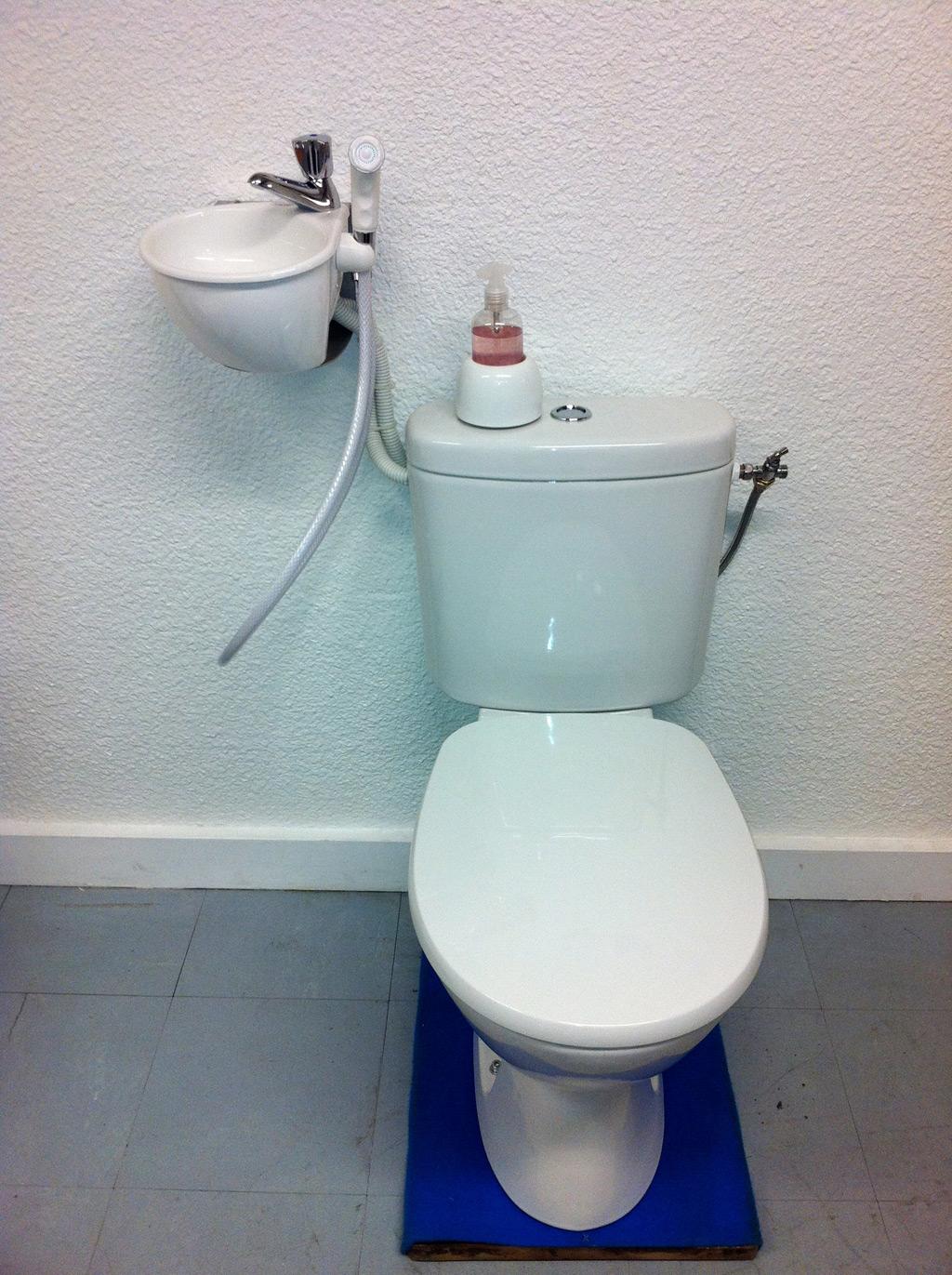 Mini Dusche Wc : WiCi Jdid, das WiCi Mini mit Handbrause – Atelier Cr?ation JF (25