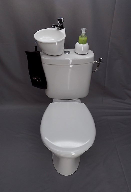 wici mini fotostrecke unseres mini handwaschbeckens f r das wc. Black Bedroom Furniture Sets. Home Design Ideas